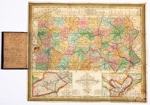 Mitchell's Map of Pennsylvania