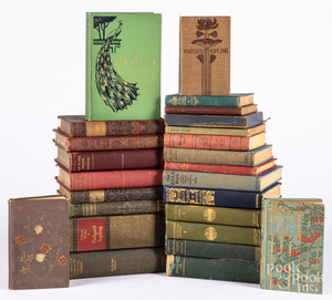 Large group of miscellaneous poetry and literature