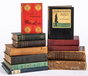 Group of historical books