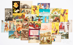 Group of postcards