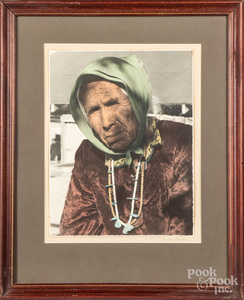 Charles Leake, Native American Indian photograph
