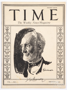 Volume 1, No. 1 issue of Time Magazine