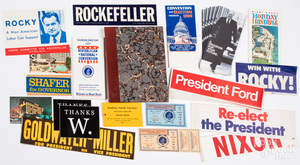 Group of political ephemera