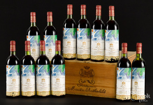 Chateau Mouton Rothschild 1982, 12 bottles