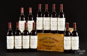Chateau Branaire Duluc Ducru St. Julien 1982