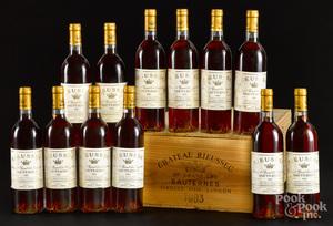 Chateau Rieussec Sauternes 1983, 12 bottles