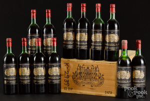 Chateau Palmer Margaux 1979, 12 bottles