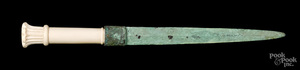 Egyptian bronze dagger