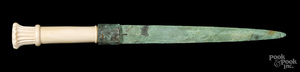 Egyptian bronze dagger