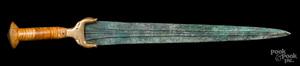 Luristan bronze sword