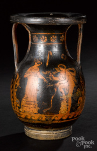 Apulian red figure pelike