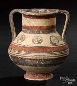 Cypriot bichrome ware amphora