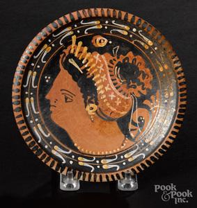 Apulian red figure plate