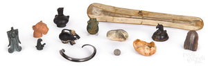 Miscellaneous grouping of antiquities
