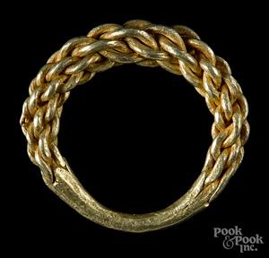 Gold Viking ring