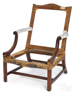 Rare and important South Carolina chair
