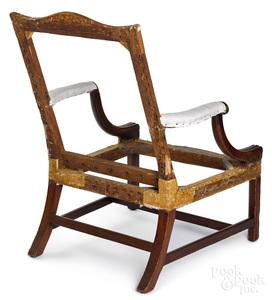 Rare and important South Carolina chair