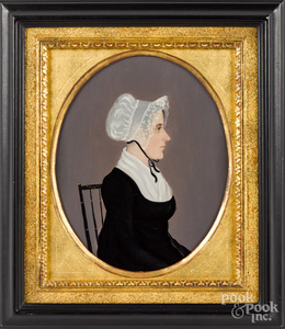 Pair of Pennsylvania oil on panel portraits