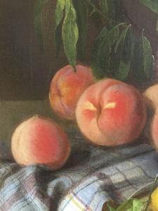 Joseph Biays Ord, still life with fruit