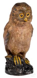 Pennsylvania chalkware owl