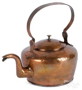 Philadelphia copper kettle