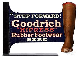 Goodrich Hipress Rubber Footwear sign