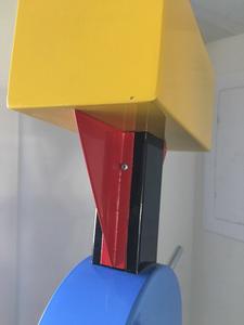 Ettore Sottsass for Memphis Milano floor lamp