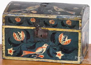 Continental painted dome top box