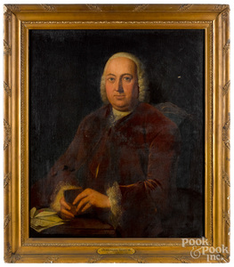 Attributed to Jeremiah Theus, portrait