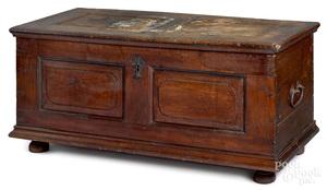 Lancaster, Pennsylvania walnut blanket chest