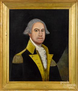 Primitive portrait of George Washington