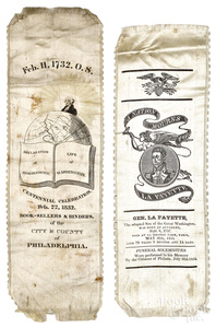 Two historical ribbons