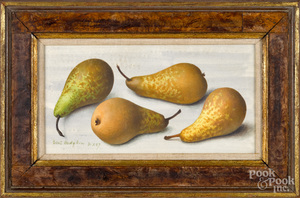 Eliot Hodgkin, oil titled Four Pears