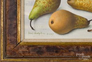 Eliot Hodgkin, oil titled Four Pears
