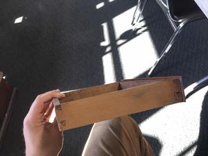 Mini Pennsylvania Chippendale slant front desk