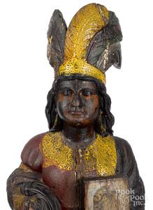 Samuel Robb cigar store Native American Princess