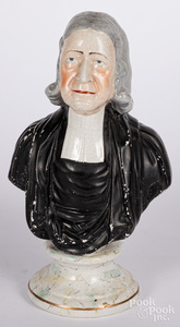 Staffordshire bust of John Wesley