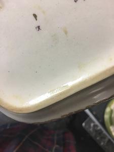 Mintons Green Cockatrice porcelain dinner service