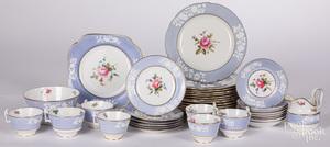 Assembled Spode Copeland porcelain service