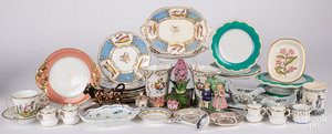 Miscellaneous group of porcelain.