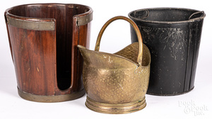 English peat bucket
