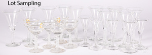 Reproduction glass stemware