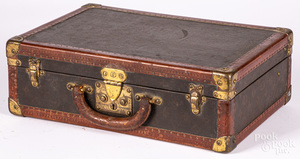 Early Louis Vuitton suitcase