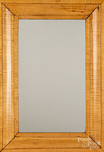 Empire tiger maple mirror