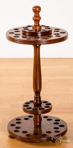 Mahogany cane stand, 30