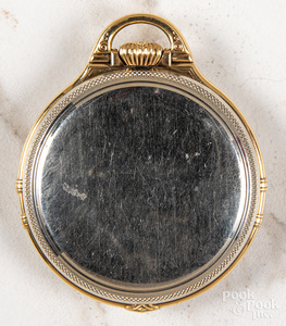 Gold filled Illinois Bunn-Special pocket watch