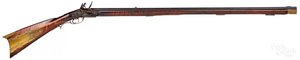Full stock flintlock long rifle