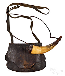 Leather hunting bag