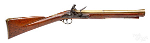 English flintlock blunderbuss