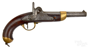 French Tulle model 1822 percussion pistol